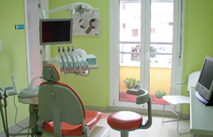 Clínica Dental Turre vista general de un consultorio dental