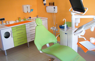 Clínica Dental Turre vista interior de consultorio dental